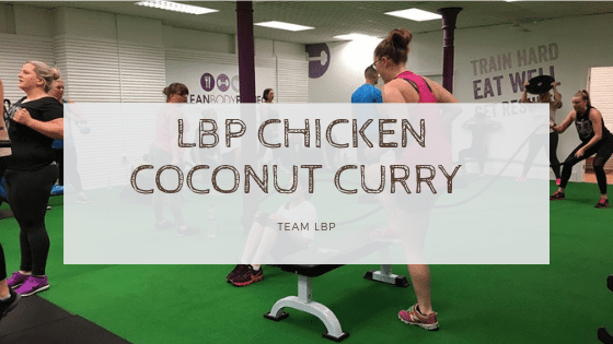 LBP Chicken Coconut Curry
