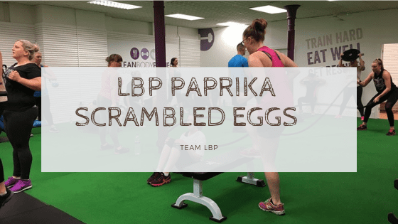 LBP Paprika Scrambled Eggs