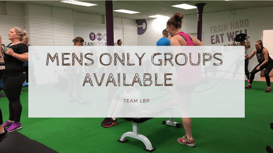 Mens Groups Also Available At LBP