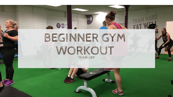 Beginner gym workout – Upper body and cardio